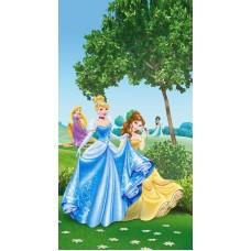 Disney Hercegnők prémium sötétítő függöny, 140 x 245 cm
