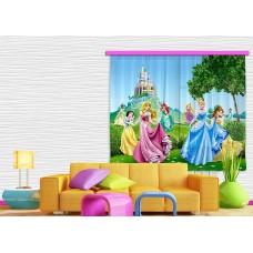 Hercegnős gyerek függöny