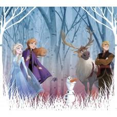 Jégvarázs 2. függöny, Anna, Elsa, Olaf, Kristóf, Rénszarvas