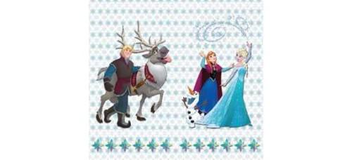Jégvarázsos készfüggöny, Frozen XXL
