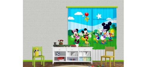 Minnie, Mickey függöny