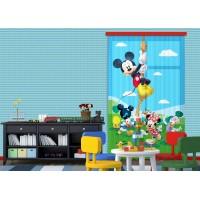 Mickey egér kötélen mászik függöny