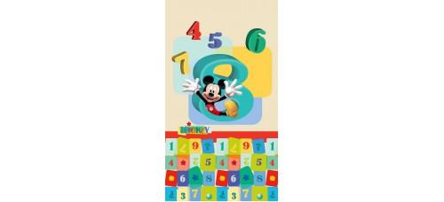 Mickey egér és számok gyerek függöny